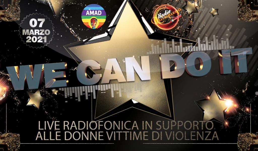 Diretta radiofonica in favore delle donne vittime di violenza